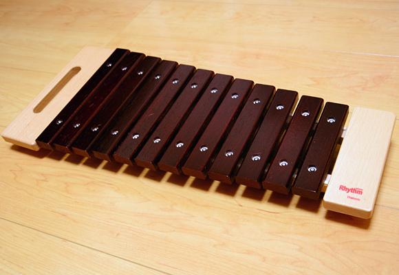 おススメの木琴「リズムポコ RP-980/XY」