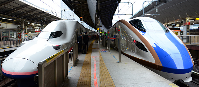 新幹線E7系・E4系Max