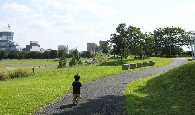昭和記念公園でピクニック