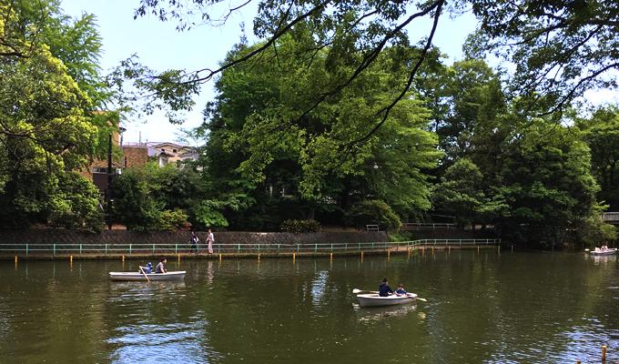 《自然すぎて強敵に遭遇》緑と水に囲まれた公練馬区立・武蔵関公園は幼児が居ればボート利用が無料!