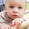 怒りっぽい赤ちゃんに成長した、3か月次男の日常